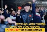 Tiến Dũng, Xuân Trường, Quang Hải, Công Phượng đồng loạt 'thả tim' với người hâm mộ