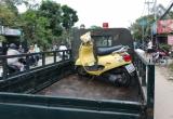 TPHCM: Tông trúng lề đường, cô gái trẻ bị xe ben cán tử vong