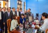 Thủ tướng Nguyễn Xuân Phúc đến thăm và kiểm tra Trung tâm tiếp công dân Công an tỉnh Thừa Thiên Huế