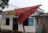 Hà Giang: Mưa đá kèm theo lốc làm tốc mái 71 nhà, thiệt hại hơn 600 triệu đồng