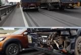 Hà Nội: Hai xe đầu kéo va nhau, vành đai 3 ùn tắc nghiêm trọng