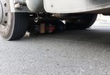Nam thanh niên chết thảm dưới bánh xe container