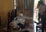Sập trần phòng học, nhiều học sinh trường THPT Trần Nhân Tông nhập viện