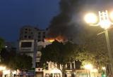 Hà Nội: Cháy cửa hàng quần áo kèm theo nhiều tiếng nổ lớn