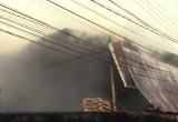 Bình Dương: Hỏa hoạn thiêu rụi gần 500m2 nhà xưởng
