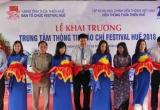 Ra mắt Trung tâm thông tin báo chí Festival Huế 2018