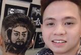 Chàng trai 'xứ Nhút' Nghệ An với tài khắc họa chân dung lên tóc