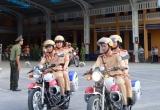Công an tỉnh Thừa Thiên Huế ra quân đảm bảo trật tự ATGT, TTĐT