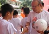 Huấn luyện viên Park Hang Seo lên Hà Giang giao lưu với thanh, thiếu niên niên