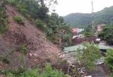 Núi lở lượng đất khổng lồ đè sập nhà dân trong đêm tại Nghệ An