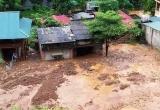 Thanh Hoá: Trước thềm khai giảng, mưa lớn tại miền núi gây đổ nhà, sập trường