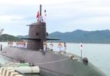 Khánh Hòa: Tàu ngầm huấn luyện Kuroshio Nhật Bản cập cảng quốc tế Cam Ranh