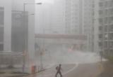 Video: Hong Kong tan hoang sau siêu bão Mangkhut