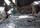 Clip: Hiện trường phát hiện 2 thi thể trong vụ cháy ở đường Đê La Thành
