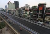 Cận cảnh cầu vượt dầm thép  An Dương - Nghi Tàm trước ngày thông xe