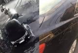 Khởi tố vụ án người phụ nữ ăn mặc sang trọng cào xước xe Camry