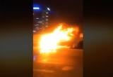 [Clip]: Mazda 3 của thành viên ban nhạc Da LAB cháy trơ khung trên đường vành đai 3