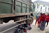 Thừa Thiên Huế: 2 học sinh thoát chết sau va chạm giao thông với xe tải