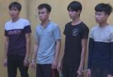 Nhóm thanh niên mang dao, roi điện đi cướp vào ban đêm