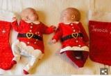 Cặp sinh đôi 'chiến thắng tử thần' đang chờ đón Giáng sinh