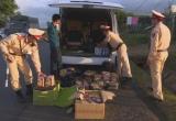 Phát hiện xe khách chở gần 200kg pháo lậu ở Đắk Lắk