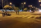 TP HCM: Hai xe máy va chạm, 2 người bị thương