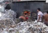 Bình Dương: Phát hiện cơ sở dùng rác công nghiệp đốt lò sấy
