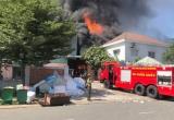 Bình Dương: Cháy lớn tại công ty sản xuất nệm, mút xốp