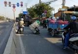 TP HCM: Tai nạn liên hoàn, 1 người bị thương