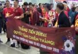 Chuyến bay đặc biệt tiếp lửa cho đội tuyển Việt Nam