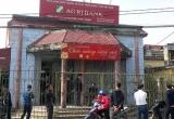 Cướp ngân hàng Agribank ở Thái Bình: Đối tượng muốn có tiền đổi xe máy cho bạn tình