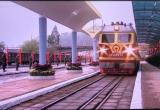 Cận cảnh đoàn tàu đặc biệt chở Chủ tịch Kim Jong-un tiến vào ga Đồng Đăng