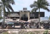 Kiên Giang: Cháy chợ trong đêm thiệt hại hàng tỷ đồng