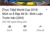 Nhiều tài khoản Facebook, Youtube và website ngang nhiên vi phạm bản quyền World Cup 2018