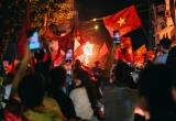 Olympic Việt Nam vào bán kết ASIAD: Hà Nội có đêm 'không ngủ'