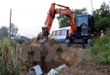 Quảng Ninh: Tiêu hủy 2,8 tấn thực phẩm không rõ nguồn gốc