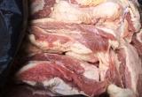 Hơn 3 tạ thịt bò bốc mùi mang ra Hà Nội tiêu thụ