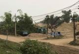 """Bến bãi không phép Thị xã Sơn Tây: Sở Nông nghiệp thúc liên tục, chính quyền vẫn """"nhởn nhơ"""""""