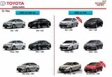 Toyota Vios 2018 tại Việt Nam có đến 7 túi khí