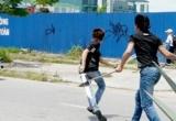 Thái Nguyên: Kinh hoàng thanh niên đang đi trên đường bị chém lìa tay