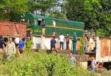 Vụ tai nạn tàu hỏa và xe tải: Tiếp nhận 5 bệnh nhân nhập viện