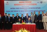 Ký thoả thuận hợp tác giữa Tổng công ty Truyền tải điện Quốc gia và Tổng công ty lưới điện Liên bang Nga
