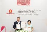 Vingroup là 'nhà phát triển bất động sản tốt nhất Việt Nam năm 2017'