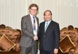 Thủ tướng tiếp các Đại sứ, Công sứ dự hội nghị phát triển bền vững ĐBSCL