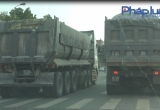 Bắc Giang:  Xe trọng tải lớn 'vượt mặt' chốt Cảnh sát giao thông