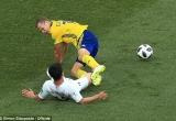Thụy Điển 1-0 Hàn Quốc: Lão tướng lập công