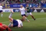 """[Clip]: Bàn thắng """"kì dị"""" của nữ cầu thủ U20 Anh"""