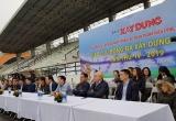 Báo Xây dựng tổ chức giải bóng đá Xây dựng mở rộng lần thứ IV - 2019