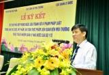Lễ ký kết Quy chế phòng ngừa đấu tranh với vi phạm pháp luật trong lĩnh vực dược, mỹ phẩm, an toàn thực phẩm