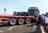 Tai nạn giao thông Plus: Tai nạn dây chuyền ở cao tốc Long Thành xảy ra sau vụ nổ lốp